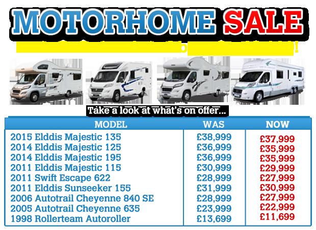 Motorhome Sale