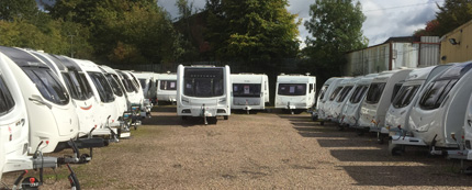 Caravan dealers west midlands